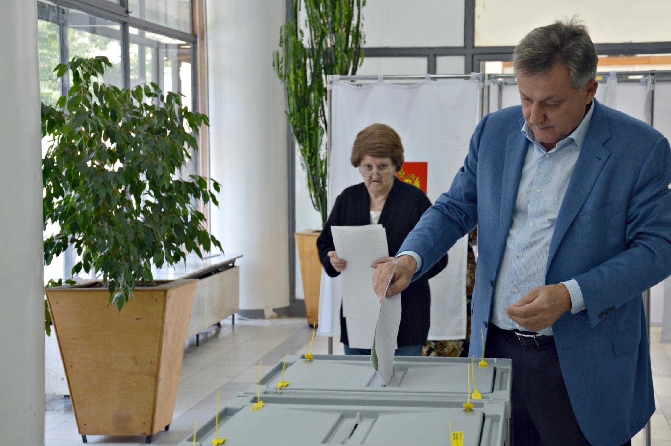 ВСмоленской области начался единый день голосования